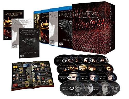 ゲーム・オブ・スローンズ 〈第一~四章〉 ブルーレイ ボックス (初回限定生産/20枚組) [Blu-ray]