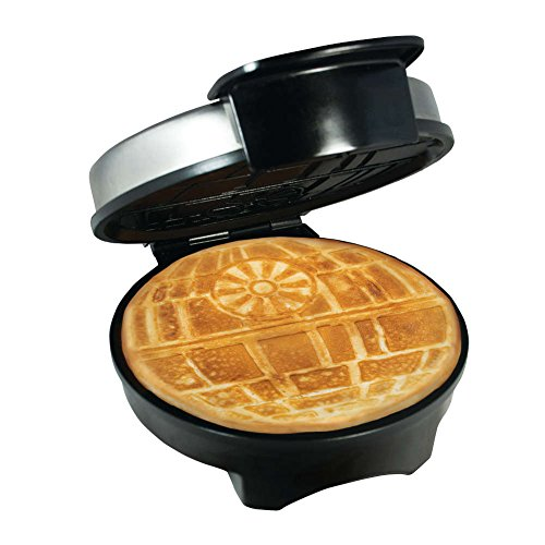 Review Exclusive Star Wars Death Star Waffle Maker - Officially Licensed Waffle Iron