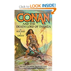 Conan and the Death Lord of Thanza by Roland Green