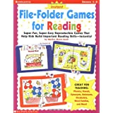 Instant File-Folder Games for Reading: Super-Fun, Super-Easy Reproducible Games That Help Kids Build Important Reading Skills-Independently! ~ Marilyn Burch