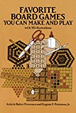 img - for Favorite Board Games You Can Make and Play book / textbook / text book