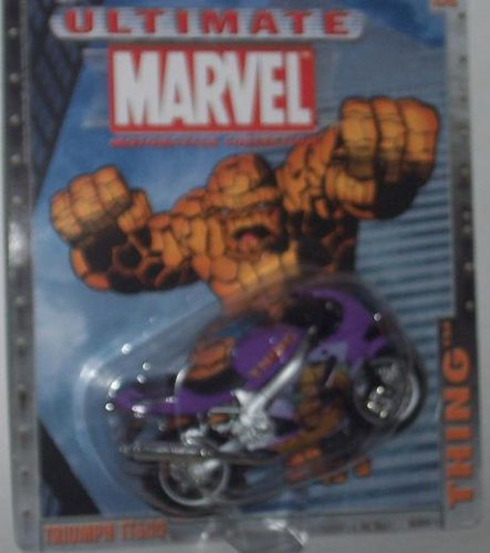 Maisto Ultimate Marvel Motorcycle - The Thing Triumph TT600 Diecast Motorcycle - 1