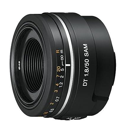 Sony SAL-50F18.AE Objectif DT 50 mm F1,8 SAM Noir