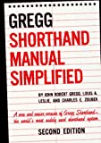 The GREGG Shorthand Manual Simplified (0070245487) by John Gregg