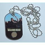THE WALKING DEAD ~ COSTUME (Update) Hobby DOG TAG ~ Walker #C2