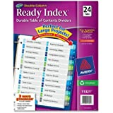 Avery  Double-Column Ready Index Dividers, 24-Tab Set, 1 Set (11321)