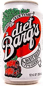 Barq's Diet Root Beer 12oz Cans (Pack of 12)