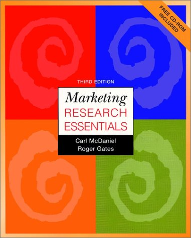 Marketing Research Essentials with Free Student CD-ROM, 3rd Edition