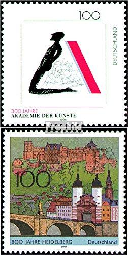 BRD (BR.Deutschland) 1866,1868 (kompl.Ausgaben) gestempelt 1996 Sondermarken (Briefmarken für Sammler)
