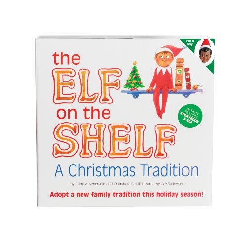 The Elf on the Shelf Brown Eyed Boy - Book