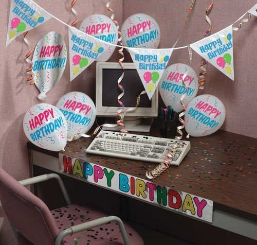 Creative Converting Happy Birthday Decorating Kit