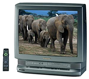 Panasonic PV-DM2791 27-Inch Triple Play TV-DVD-VCR Combo