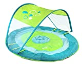 SwimWays Baby Spring Float Sun Canopy with Blue Whale