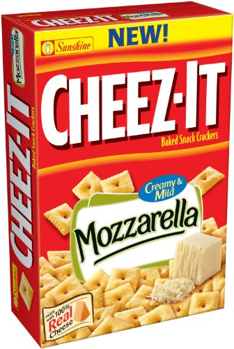 Kellogg's Sunshine Cheez-IT Mozzarella Cheese, 13.7-Ounce (Pack of 4)