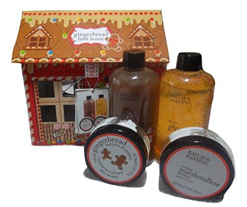 baylis-harding-gingerbread-bath-house-5-piece-set-sweet-temptations