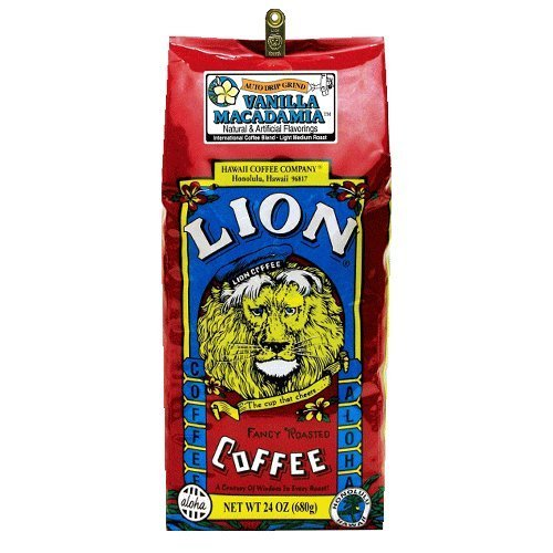 ライオンコーヒー バニラマカダミア 24oz(680g)