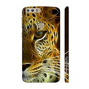 Enthopia Designer Hardshell Case TIGER ELECTRIFIED Back Cover for Huawei Honor 8