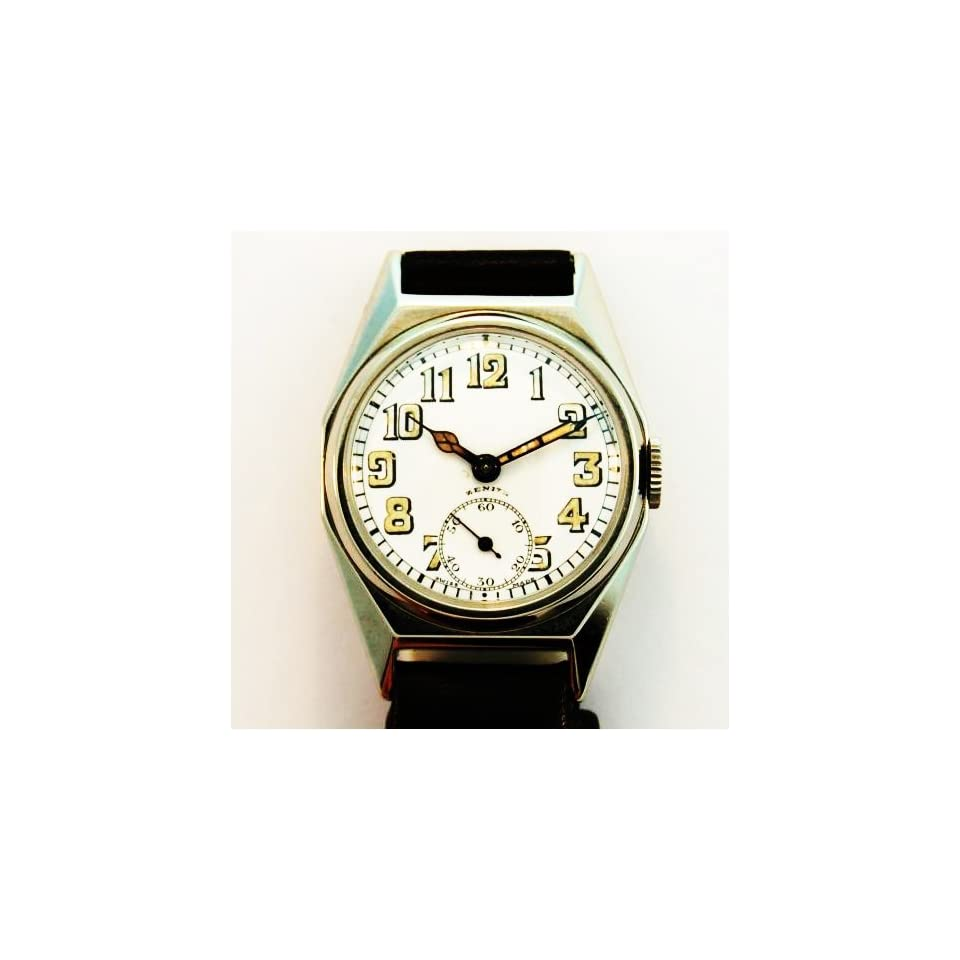 mens zenith sterling silver 1920s watches