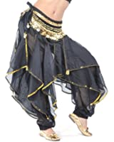 BellyLady Belly Dance Harem Pants Bollywood Arabic Dance Tribal Costume Pants