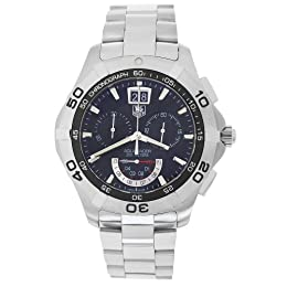TAG Heuer Men s CAF101A BA0821 Aquaracer Chronograph Grand-Date Quartz Watch