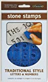 Midwest Products Traditional Letters and Numbers Stepping Stone Stamps