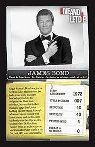 Top Trumps James Bond Card Game