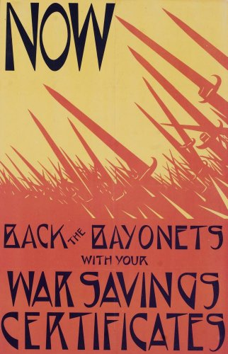 British World War One Poster Wall Mural - 18 Inches H X 12 Inches W - Peel And Stick Removable Graphic