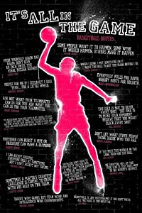 1art1 49086 Poster Basketball Quotes It's All In The Game 91 x 61 cm