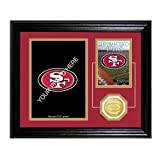 The Highland Mint San Francisco 49ers Framed Memories Desktop Photo Mint at Amazon.com