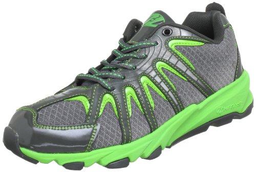 Heelys SONAR 7967, Unisex-Kinder Sneaker, Grau (Green/Silver), EU 38 (US 6)