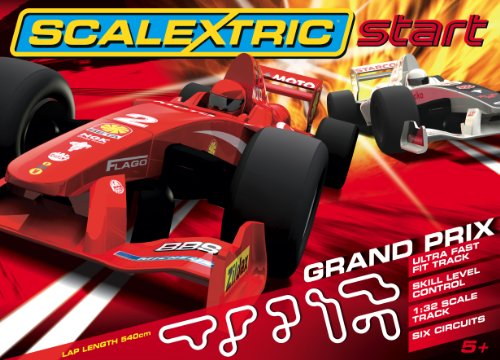 Scalextric C1250 Start - Grand Prix 1:32 Scale Race Set