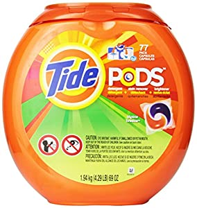 Tide Pods Laundry Detergent Alpine Breeze Scent 77 Count 1.94 kg (4.29 lb) 69oz