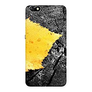 Impressive Leaf Lone Back Case Cover for Honor 4X