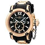 Invicta Men's Russian Diver Quartz Chronograph Retrograde Rubber Strap Watch 5669
