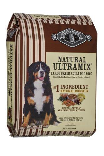 Castor & Pollux Ultramix Large Breed Adult Canine Formula Dry Dog Food, Natural Chicken, 30-Pound Bag