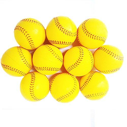 (モデルノ ラ テール) Moderno La Terre 野球 練習 ウレタン ボール 7cm 10個 20個 30個 セット SN-WBB (黄色 10個セット)