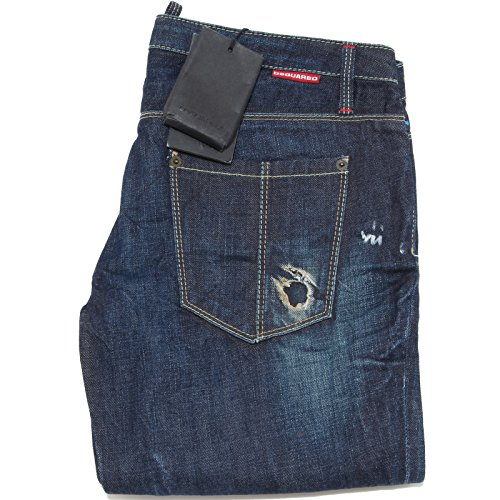 9355 jeans DSQUARED D2 pantaloni uomo trousers men [44]