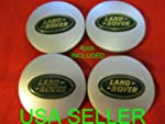 4 NEW Land Rover Wheel Center Caps WH...
