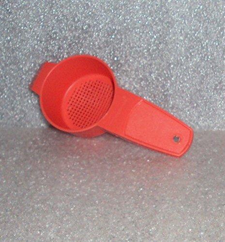Tupperware Gadget Mini Sifter Loose Tea Strainer Guava / Coral #879