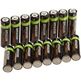 AmazonBasics AA Rechargeable Batteries (16-Pack)