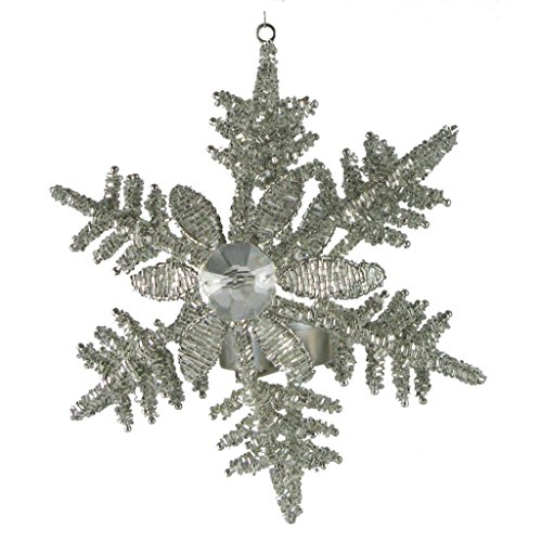 Golden Hill Studio Snowflake Hanging Votive (Set of 2), Large