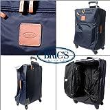 (ブリックス) BRIC'S X-TRAVEL ミディアムトローリー 4Wソフトキャリー BXL08118.050 ブルー スーツケース キャリーケース ...
