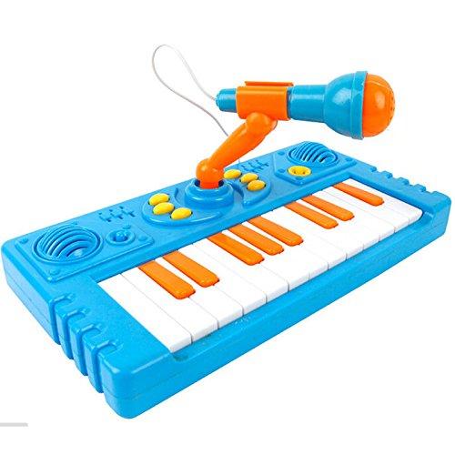 Childrens Educational Keyboard Microphone Display