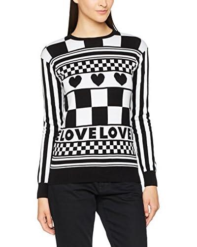 Love Moschino Jersey Negro / Blanco