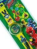 Go-busters Children Boys Yellow Digital LCD Watch with 10 Image Projector Toy Attachment