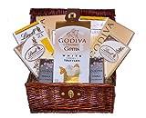 White Chocolate Galore Godiva & Lindor Holiday Gourmet Gift Basket