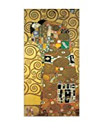 Artopweb Panel Decorativo Klimt Embrace 51x100 cm Multicolor