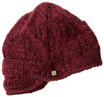 Coal Women's Madison Hat, Burgundy, One Size