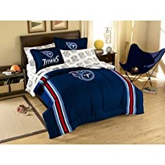 Tennessee Titans 7 Pc FULL Size Bed in a Bag (Comforter, 1 Flat Sheet, 1 Fitted... by Northwest