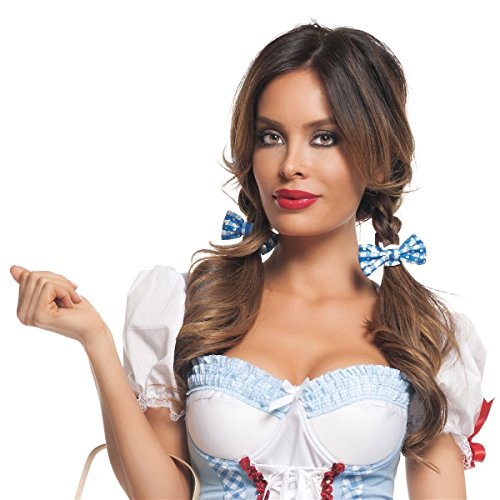 [GSG Dorothy Costume Adult Sexy Haloween Fancy Dress] (Scary Bee Costume)